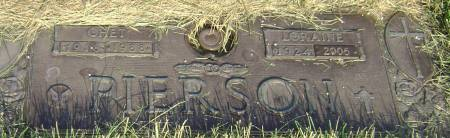 PIERSON, LORAINE - Polk County, Iowa   LORAINE PIERSON