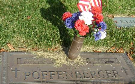 POFFENBERGER, CLYDE M - Polk County, Iowa | CLYDE M POFFENBERGER