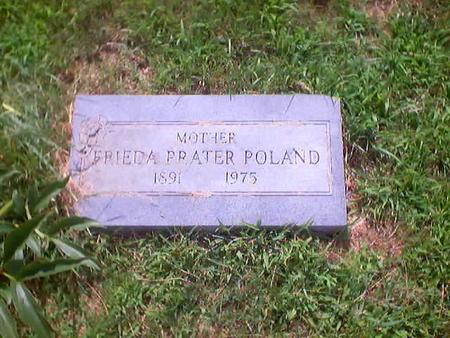 POLAND, FRIEDA - Polk County, Iowa | FRIEDA POLAND