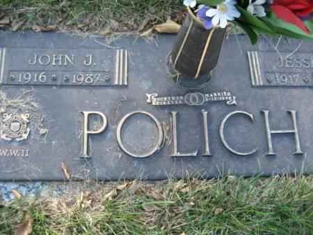 POLICH, JOHN J - Polk County, Iowa   JOHN J POLICH