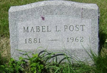 POST, MABEL L. - Polk County, Iowa | MABEL L. POST