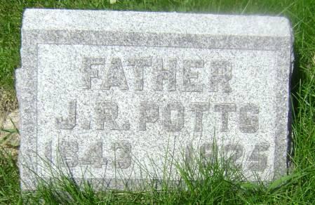 POTTS, J. R. - Polk County, Iowa | J. R. POTTS