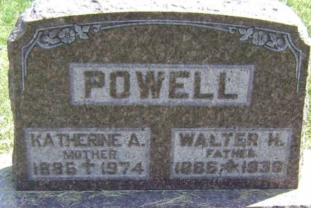 POWELL, WALTER H - Polk County, Iowa | WALTER H POWELL