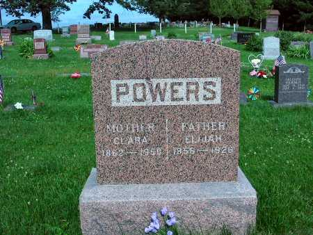 POWERS, CLARA - Polk County, Iowa | CLARA POWERS