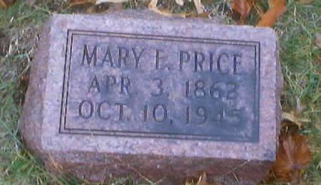 PRICE, MARY ELLEN - Polk County, Iowa | MARY ELLEN PRICE