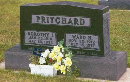 PRITCHARD, WARD N. (SHORTY) & DOROTHY IRENE - Polk County, Iowa | WARD N. (SHORTY) & DOROTHY IRENE PRITCHARD