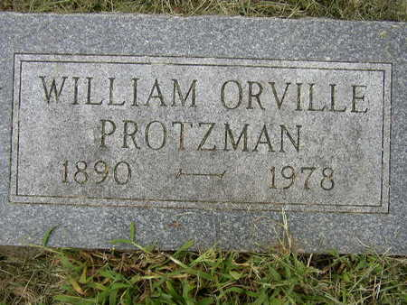 PROTZMAN, WILLIAM ORVILLE - Polk County, Iowa | WILLIAM ORVILLE PROTZMAN