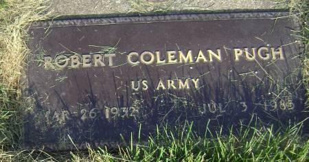 PUGH, ROBERT COLEMAN - Polk County, Iowa   ROBERT COLEMAN PUGH