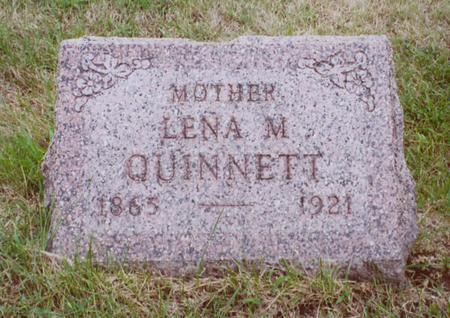 QUINNETT, LENA - Polk County, Iowa | LENA QUINNETT