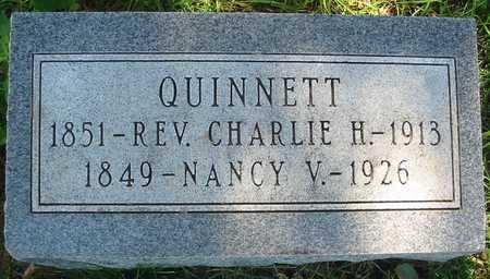 QUINNETT, NANCY V. 1849-1926 - Polk County, Iowa | NANCY V. 1849-1926 QUINNETT