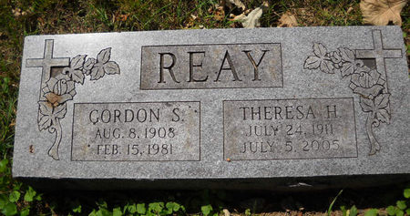 REAY, GORDON S. - Polk County, Iowa | GORDON S. REAY