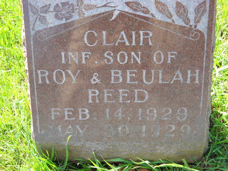 REED, CLAIR - Polk County, Iowa | CLAIR REED