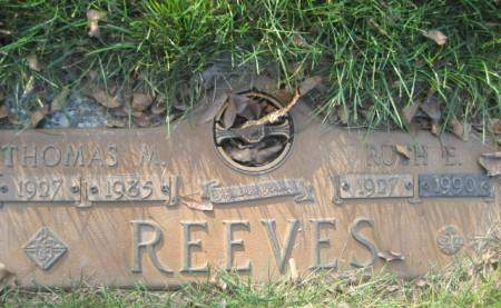 REEVES, RUTH E - Polk County, Iowa | RUTH E REEVES