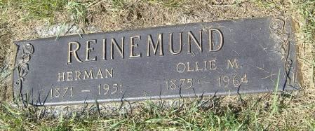 REINEMUND, HERMAN - Polk County, Iowa | HERMAN REINEMUND