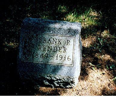 RENDER, FRANK R. - Polk County, Iowa | FRANK R. RENDER