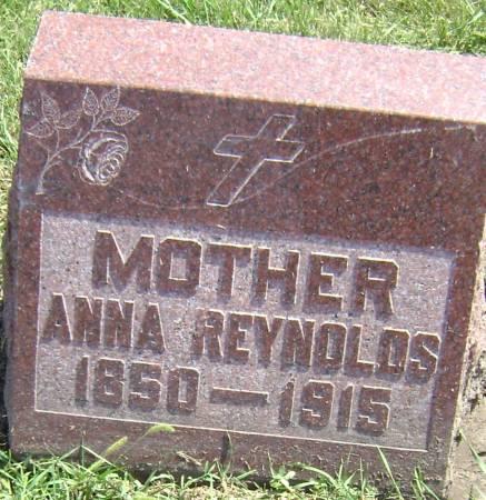 REYNOLDS, ANNA - Polk County, Iowa | ANNA REYNOLDS