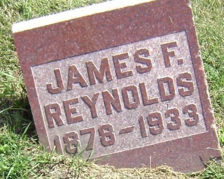 REYNOLDS, JAMES F - Polk County, Iowa | JAMES F REYNOLDS