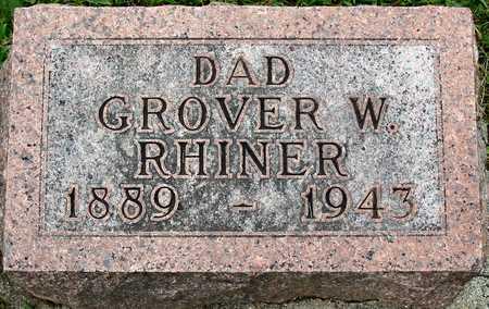 RHINER, GROVER W. - Polk County, Iowa | GROVER W. RHINER