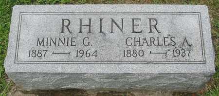 RHINER, MINNIE G. - Polk County, Iowa | MINNIE G. RHINER