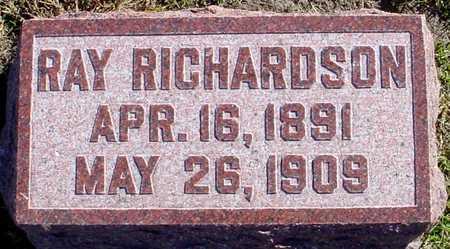 RICHARDSON, RAY - Polk County, Iowa | RAY RICHARDSON