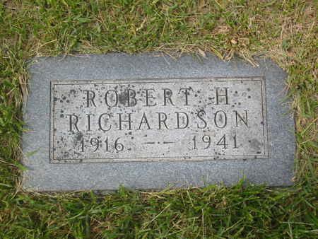 RICHARDSON, ROBERT HOWARD - Polk County, Iowa | ROBERT HOWARD RICHARDSON