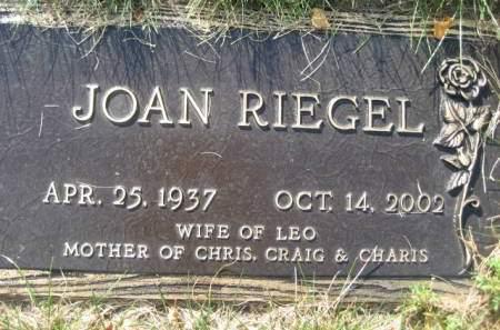 RIEGEL, JOAN - Polk County, Iowa | JOAN RIEGEL
