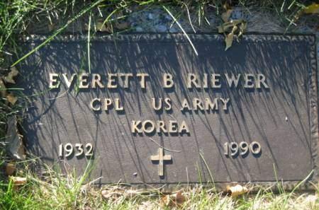 RIEWER, EVERETT - Polk County, Iowa | EVERETT RIEWER