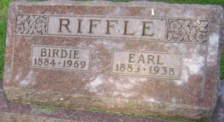RIFFLE, EARL - Polk County, Iowa | EARL RIFFLE
