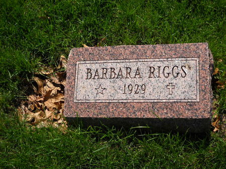 RIGGS, BARBARA - Polk County, Iowa | BARBARA RIGGS