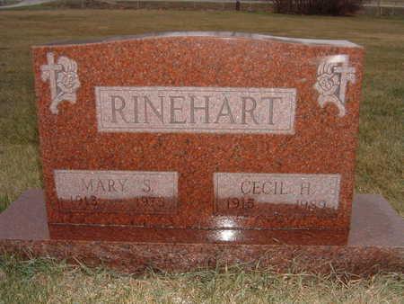 RINEHART, CECIL H. - Polk County, Iowa | CECIL H. RINEHART