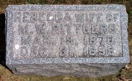 WILSON RITTGERS, REBECCA - Polk County, Iowa | REBECCA WILSON RITTGERS