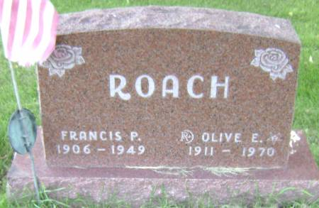 ROACH, FRANCIS P - Polk County, Iowa | FRANCIS P ROACH