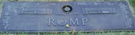 ROMP, RAYMOND G - Polk County, Iowa | RAYMOND G ROMP