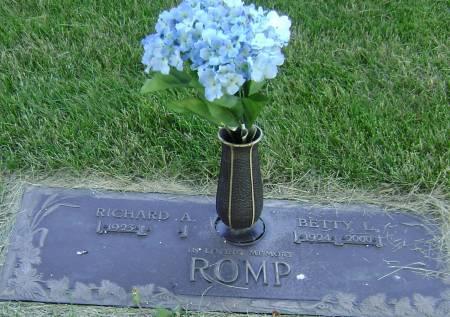 ROMP, BETTY L - Polk County, Iowa | BETTY L ROMP