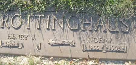 ROTTINGHAUS, NORMA I - Polk County, Iowa   NORMA I ROTTINGHAUS