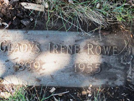 MCCLURE ROWE, GLADYS IRENE - Polk County, Iowa | GLADYS IRENE MCCLURE ROWE