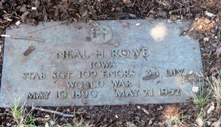 ROWE, NEAL H - Polk County, Iowa | NEAL H ROWE