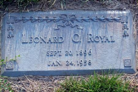 ROYAL, LEONARD C. - Polk County, Iowa | LEONARD C. ROYAL