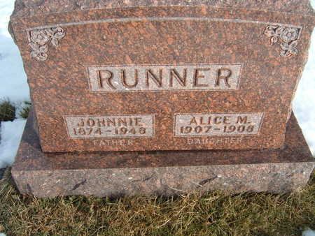RUNNER, ALICE M. - Polk County, Iowa | ALICE M. RUNNER