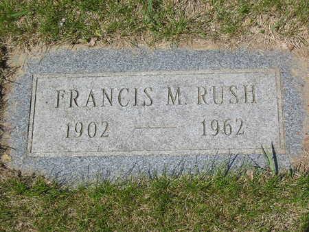 RUSH, FRANCIS - Polk County, Iowa | FRANCIS RUSH