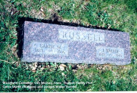 RUSSELL, CARRIE M. - Polk County, Iowa | CARRIE M. RUSSELL