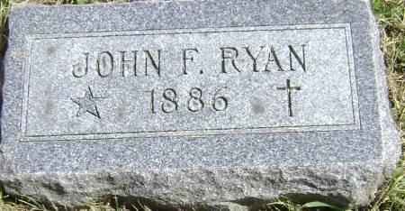 RYAN, JOHN F - Polk County, Iowa | JOHN F RYAN