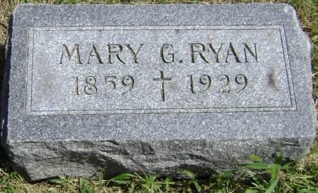RYAN, MARY G - Polk County, Iowa | MARY G RYAN