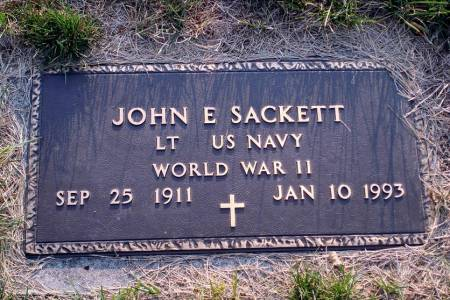 SACKETT, JOHN EARLE - Polk County, Iowa | JOHN EARLE SACKETT