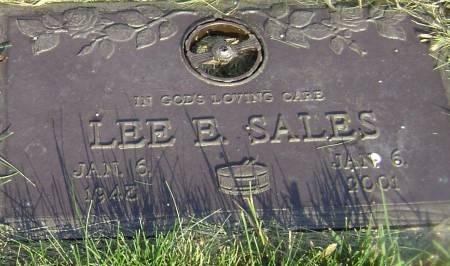 SALES, LEE E - Polk County, Iowa | LEE E SALES