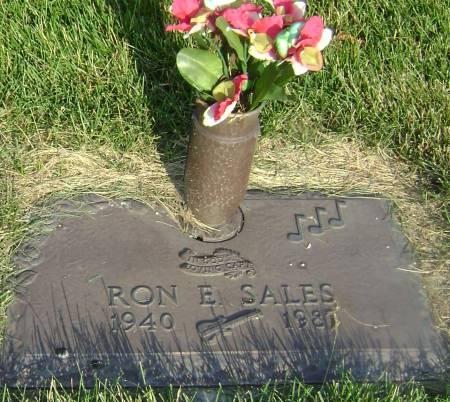 SALES, RON E - Polk County, Iowa   RON E SALES