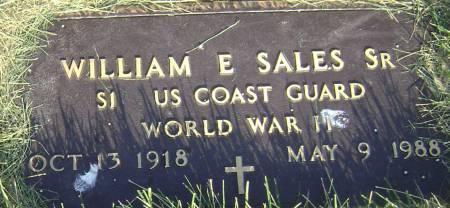 SALES, WILLIAM E SR - Polk County, Iowa   WILLIAM E SR SALES
