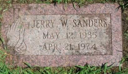 SANDERS, JERRY   W. - Polk County, Iowa | JERRY   W. SANDERS