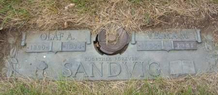 SANDVIG, VELMA - Polk County, Iowa | VELMA SANDVIG
