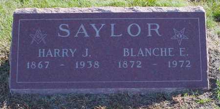 SAYLOR, HARRY J. - Polk County, Iowa | HARRY J. SAYLOR